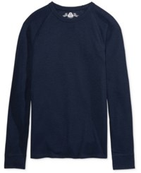 American Rag Men's Thermal Shirt Only At Macy's Basic Navy
