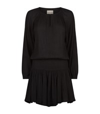 Denim And Supply Ralph Lauren Smock Cheesecloth Dress Female Black