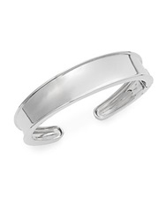 Saks Fifth Avenue Sterling Silver Open Cuff Bracelet