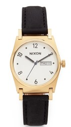 Nixon Kensington Watch Gold Black Gator