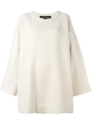 Ter Et Bantine Oversized Jumper Nude And Neutrals
