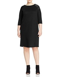 Marina Rinaldi Oceanico Jersey Dress Black