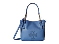 Tory Burch Harper Small Satchel Wallis Blue Satchel Handbags