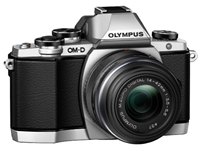 Amazon.Com Olympus Om D E M10 Compact System Camera With 14 42Mm 2Rk Lens Silver Camera And Photo
