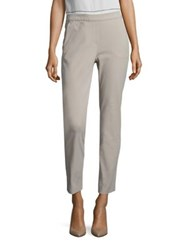 Peserico Cotton Four Way Stretch Pants Beige