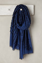 Anthropologie Knotted Dita Scarf Blue
