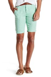Ganesh Summer Linen Short Green