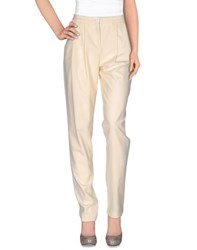 Patrizia Pepe Trousers Casual Trousers Women Light Yellow
