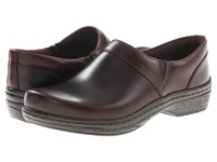 Klogs Usa Mission Mahogany Smooth Leather Women's Clog Shoes