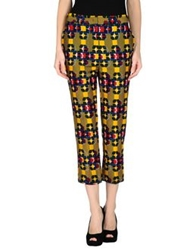 Stella Jean Casual Pants Yellow