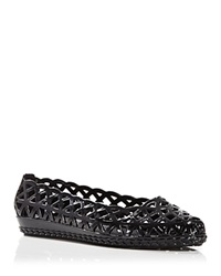 Jeffrey Campbell Jelly Flats Jelly Jam Black