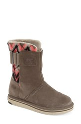 Women's Sorel 'Newbie' Chevron Water Resistant Boot Major