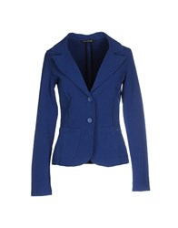Fornarina Suits And Jackets Blazers Women Blue