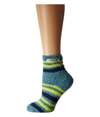 Life Is Good Lightweight Snuggle Crew Dusty Blue Women's Crew Cut Socks Shoes