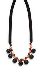 Marni Strass Necklace Black