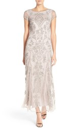 Women's Pisarro Nights Embellished Mesh Gown