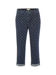 White Stuff Southern Ocean Crop Spot Denim