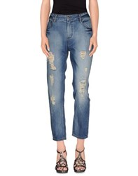 Cuple Denim Denim Trousers Women Blue