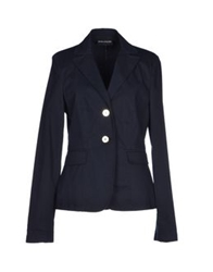 Diana Gallesi Blazers Dark Blue