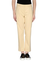 Sportmax Trousers Casual Trousers Women Light Yellow