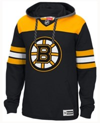 Reebok Men's Boston Bruins Jersey Pullover Hoodie Black