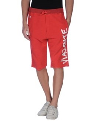 Happiness Is A 10 Tee Bermudas Red