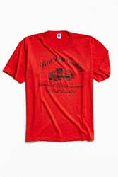 Urban Outfitters Vintage Removal Tee Red