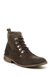 Rogue Gruz Plain Toe Boot Brown