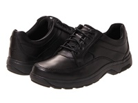 Dunham Midland Oxford Black Polished Leather Men's Lace Up Casual Shoes