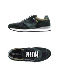 Manuel Ritz Low Tops And Trainers Dark Green