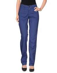 Franklin And Marshall Trousers Casual Trousers Women Blue