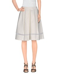 Axara Paris Skirts Knee Length Skirts Women White