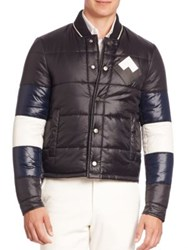 Bally Long Sleeve Quilted Jacket Black