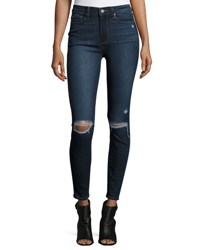 Paige Hoxton Destructed Ankle Jeans Aveline