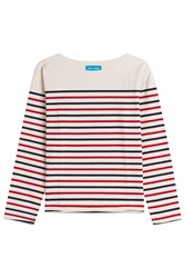 Mih Jeans Striped Cotton Top Stripes