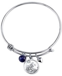 Disney Some Worth Melting For Charm Bangle Bracelet In Sterling Silver