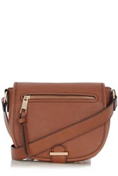 Oasis Sienna Saddle Bag Tan