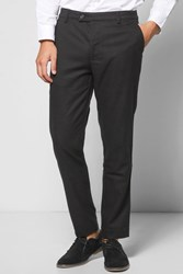 Boohoo Fit Suit Trousers Black