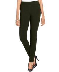 Styleandco. Style Co. Petite Stretch Ponte Leggings Only At Macy's Evening Olive