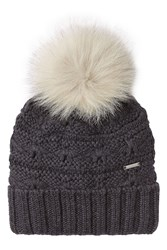 Woolrich Wool Hat With Pom Pom Black