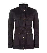 Denim And Supply Ralph Lauren Waxed Moto Jacket Female Black