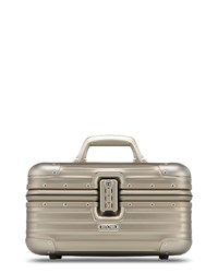 Rimowa North America Topas Titanium Silver Beauty Case