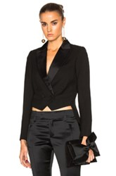 Smythe Mini Tails Blazer In Black