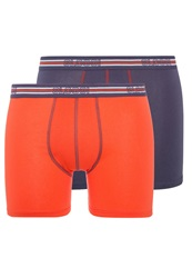 Sloggi Sports 2Pack Shorts Orange Dark Combo Light Red