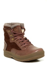 Bearpaw Haymitch Genuine Sheepskin Lined Lace Up Boot Brown