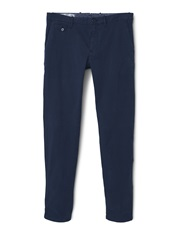 Mango Barna5 Slim Fit Cotton Chinos Navy