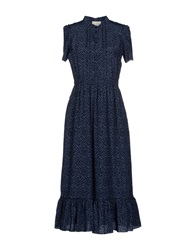 Boy By Band Of Outsiders 3 4 Length Dresses Dark Blue