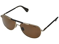 Zeal Optics Barstow Polished Gold W Polarized Copper Lens Sport Sunglasses Black