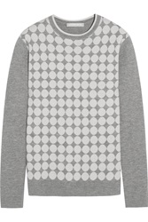 Richard Nicoll Spot Intarsia Wool And Cashmere Blend Sweater
