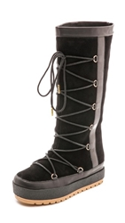 United Nude Polar Lace Up Boots Black